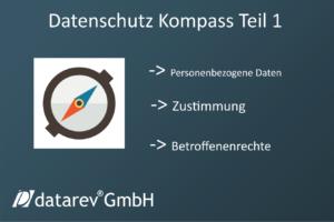 Datenschutz Kompass Teil 1: Was sind die grundlegenden Dinge, die ich beim Datenschutz beachten muss? Und wer ist verantwortlich, wenn was schiefläuft und an wenn wende ich mich? Der Datenschutz in Deutschland hat ein ziemlich breites Feld. Dort einen Überblick zu behalten, neben den normalen beruflichen Tätigkeiten, kann Zeit und Geld kosten, wenn man die wichtigen Schritte zu spät bedenkt. Ich möchte Dir einen Kompass geben, damit Du weißt, bei welchen Themen ein Lämpchen aufleuchten sollte: Personenbezogene Daten: Personenbezogene Daten sind alle Daten, welche zur Identifikation einer natürlichen Person führen. Sprich: Name, Adresse, E-Mail, Telefon, Aussehen und so weiter. In quasi jedem Unternehmen werden diese Daten erhoben und verarbeitet, ob von Mitarbeitern oder Kunden. Das Nächste muss unbedingt beachtet werden. Man darf personenbezogene Daten nur verarbeiten, wenn einer der 3 Punkte zutrifft: 1. Die Verarbeitung der Daten ist gesetzlich erforderlich. 2. Die Daten sind zur Erfüllung eines Vertrages erforderlich. 3. Die Daten sind von der betroffen Person mit einer aktiven Zustimmung freigegen worden. Jetzt kommt noch eine Stufe höher, die besonders schützenswerten Daten. Puh, was ist das denn? Das sind personenbezogene Daten, die, wie es der Name schon sagt, besonders geschützt werden müssen, weil es sensible Daten sind. Möchtest Du, dass Deine Gesundheitsdaten veröffentlicht werden? Die gehören zu den sieben Kategorien dazu: 1. Gesundheitsdaten 2. politische Neigung 3. sexuelle Orientierung 4. Gewerkschaftszugehörigkeit 5. ethnische Herkunft 6. biometrische Daten 7. Konfession Wenn Du Dir dieser Sachen im Klaren bist, gehe doch einmal durch, wo bei Dir am Arbeitsplatz diese Daten erfasst werden. Auf deiner Webseite, im CRM, im Besucherbuch, im Verbandbuch oder Verbandkasten. Wird ausreichend getan, um die gebotene Datenminimierung und das Umsetzten der Betroffenenrechte, wie das Löschen der Daten, zu gewährleisten? Um genau solche Punkte festzustellen, is